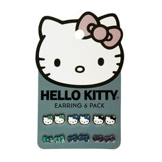 Hello Kitty With Bows Earring 6 Pack - Hello Kitty - Brands