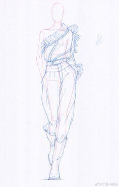 Fashion design sketches 608267493408739981 - Pantalon Source by Fashion Model Sketch, Fashion Design Sketchbook, Fashion Design Portfolio, Fashion Design Drawings, Fashion Design Illustrations, Art Portfolio, Art Sketchbook, Fashion Sketches, Fashion Drawing Tutorial