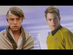 Star Wars in the Style of the Film Trailer for Star Trek Into Darkness