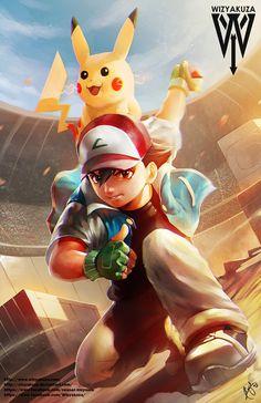 Ash and Pikachu Pokemon 11 x 17 Digital Print by Wizyakuza Pokemon Duel, Pokemon Poster, Pokemon Manga, Ash Pokemon, Pokemon Fan Art, Cool Pokemon Wallpapers, Cute Pokemon Wallpaper, Pokemon Images, Graphic Design