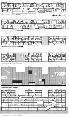Simmons Hall, MIT, Cambridge MA (2002) | Steven Holl Architects | Archweb 2D Steven Holl Architecture, New York Architecture, Architecture Panel, Architecture Drawings, Concept Architecture, Sustainable Architecture, Ancient Architecture, Landscape Architecture, Le Corbusier