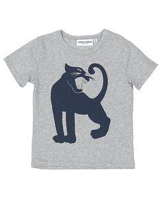 Cool Mini Rodini Panther T-shirt Mini Rodini Overdele til Børnetøj i dejlige materialer