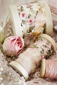 "Ribbon and lace ""pretties"""
