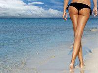 Straffe Haut an Oberschenkeln und Po: der Traum vieler Frauen