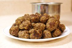 Kid meat balls using leftover baby cereal