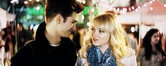 This is obviously NOT acting. This is real life, people. | 21 Reasons Why Andrew Garfield And Emma Stone Were The Cutest Couple Of 2013