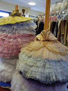 but actually, it's just brilliant tutu storage :-)