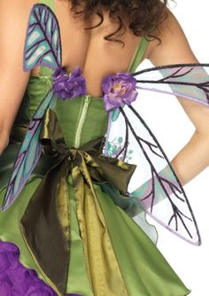 Strapless Woodland Fairy Wings: Clip-on fairy wings?