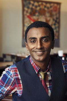 Meet Marcus Samuelsson - a James Beard Award-winning chef and a New York Times bestselling author for his memoir YES, CHEF - at our Open House