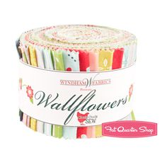 Wallflowers Strips Cluck Cluck Sew for Windham Fabrics Cluck Cluck Sew, Windham Fabrics, Fat Quarter Shop, Quilt Patterns, Kit, Quilts, Sewing, Jelly, Colours