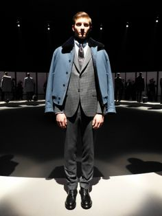 Brioni Fall/Winter 2014/15 - http://olschis-world.de/  #Brioni #Menswear #FashionWeek
