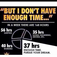 We all have the same amount of time, it's all about how you use it! What are you doing to build YOUR Dreams? #Project10 #Fitness #weightloss #Entrepreneur #Healthy #Vi #BodyByVi #Motivation #Workout #ZLoescher
