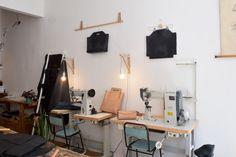 VAN LEER / Leather studio by Antonia Stankova/ now on www.CLOCLO.be