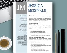 creative resume templates cover letters modern professional clean easy to