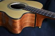 Grand Auditorium by Melville Guitars. Handcrafted custom accoustic guitar.