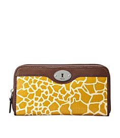 Fossil yellow clutch or wallet Yellow Clutch, Giraffe Print, Giraffe Pattern, Fossil Wallet, Fossil Handbags, Vintage Keys, Vintage Handbags, Louis Vuitton Handbags, Clutch Wallet