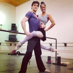 roberto bolle and misty copeland