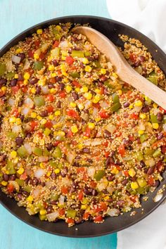 Southwestern Vegetarian Quinoa Skillet | 17 Healthy One-Dish Recipes Under 500 Calories - BuzzFeed News one pot healthy dinner quick fast