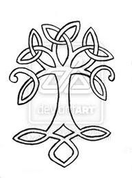 celtic symbol for family tattoos - doing this with my kids' birth dates around it and either a pink or blue colored-in 'leaf' on the tree for each one