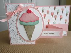 SU!'s Sprinkles of Life and Birthday Bouquet dsp on double z-fold card