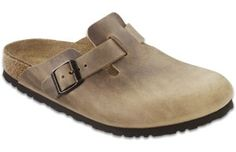 Buy the Birkenstock Boston Soft Footbed Suede Clogs for Ladies and more Shoes & Boots items at Bass Pro Shops. Quality outdoor gear and apparel at a great price. Birkenstock Men, Birkenstock Boston Clog, Birkenstock Arizona, Mullets, Clogs Shoes, Shoes Sandals, Oxford Shoes, Leather Clogs, Brown Leather