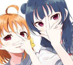 #LLS #LoveLiveSunshine #Tsushima #Yoshiko #Chika #Takami