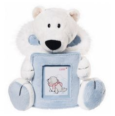 NICI plush animal cylinder Pencil bag bear polar bear koala sheep storage bag 1p