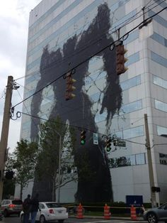 Transformers ambient advertising street art  http://www.arcreactions.com/services/online-marketing/