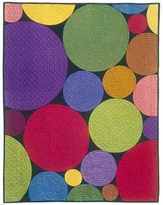 use of circles quilt