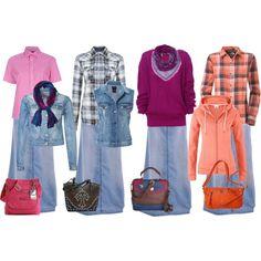 Love this skirt!!! Stetson Long Denim Skirt #modest #fashion #long ...