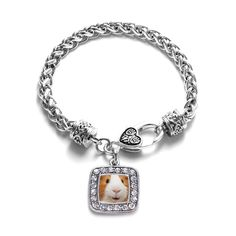 I Love Guinea Pigs Classic Braided Bracelet