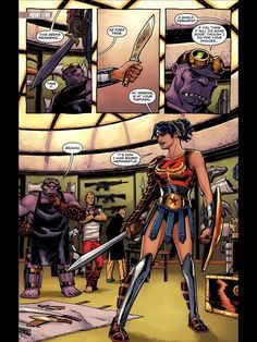 Wonder Woman: Fighting Evil In A Bathing Suit Since 1941 Iove this look for her