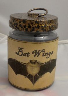 Halloween Soy Candle (Hand Made) OOAK