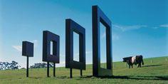 richard thompson untitled gibbs farm 2 680x341 Les sculptures de la Gibbs Farm  sculpture bonus art