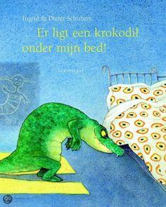Er ligt een krokodil onder mijn bed - Boeken tip - Kinderboek - Prentenboek - Voorlezen