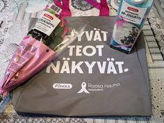 Ostamalla Roosa nauha-tuotteita tuetaan syöpätutkimusta