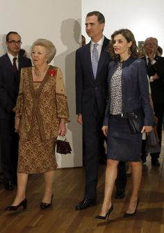 Pin for Later: Queen Letizia Just Redefined the Power Suit
