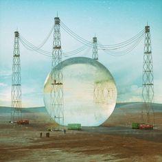Mike Winkelmann presenta ilustraciones surrealistas