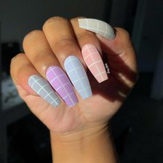 long nails 50 Awesome Long Coffin Nail Designs You Must Try Items s Coffin Nails Long, Long Acrylic Nails, Long Nails, My Nails, Acrylic Nails For Summer Coffin, Long Nail Art, Glitter Nails, Perfect Nails, Gorgeous Nails