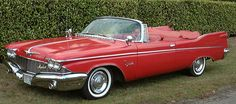1960 Chrysler Imperial red crown