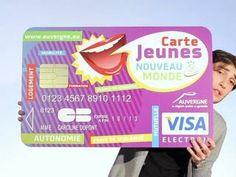 ▶ Présentation de la Carte Jeunes Nouveau Monde - Vidéo Dailymotion Post Bac, Presentation, Personal Care, Brave New World, Baby Born, Public Transport, Atm Card, Cards, Self Care
