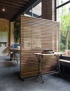 101 Marvelous Room Dividers Partitions Ideas You Should Try - Not only does it serve to give more space in a crammed up room but glass room divider partition is a perfect decorative element for a living room or a. Room Divider Ideas Bedroom, Living Room Divider, Room Divider Walls, Living Room Partition, Room Partition Designs, Wood Partition, Space Dividers, Dividers For Rooms, Fabric Room Dividers