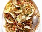 Seafood Pasta, Sea Food, Pasta Recipes, Potato Salad, Garlic, Potatoes, Vegetables, Ethnic Recipes, Potato
