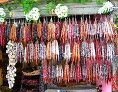 Churchkhela Vendor, Old Tbilisi, Georgia