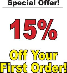 Save money on your first order!