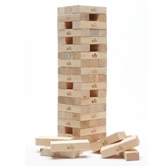 Freeport Park Tower is a fantastic and fun garden game, based on the table top favourite Jenga, this truly giant game is a must in every garden! Giant Garden Games, Giant Games, Jenga Tower, Indoor Outdoor, Outdoor Living, Giant Jenga, Large Jenga, Jenga Blocks, Tower Games