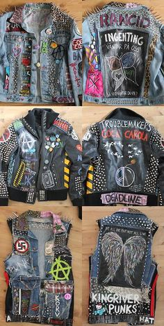Soooo many PR Points! Haha! / ah jeeze! maybe not the top one with Rancid, and the butterfly back patch YIKES! WOW