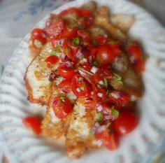 Parmesan Crusted Turkey Steaks with a Tomato and Peppadew Relishfrom The English Kitchen