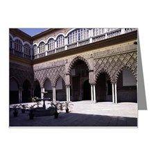 Seville- The Alcazar Moorish Note Cards (Pk of 10)