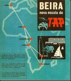 TAP, Portuguese airline ▓ African routes (not now?) We, based in Porto flew to/from Lisboa, London, Switzerland Vintage Advertisements, Vintage Ads, Super Constellation, Destinations, Poster Pictures, Vintage Wall Art, Vintage Travel Posters, Commercial Aircraft, Vintage Posters